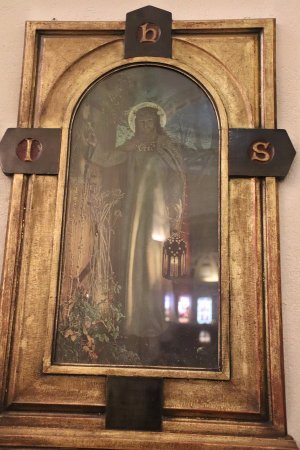 St. George's Cathedral: Jesus knocking on the door