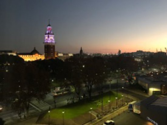 Park Tower, A Luxury Collection Hotel, Buenos Aires: Gorgeous daybreak view