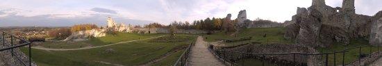 Ogrodzieniec, Poland: Panorama