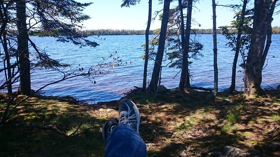 Porters Lake, Canada : Right by the water!