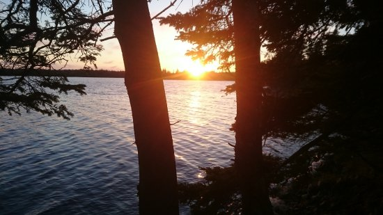 Porters Lake, Kanada: Our sunset view