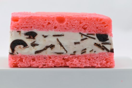 Chappaqua, NY: Electric Cherry Ice Cream Cake Sandwich
