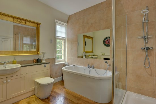 Castle Cary, UK: Damask Bathroom