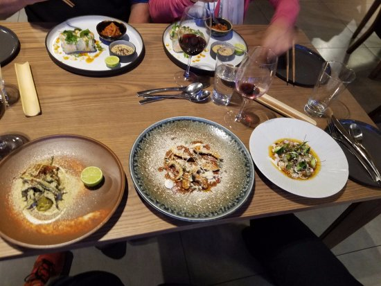 Constantia, South Africa: Another course of 3 dishes for sharing