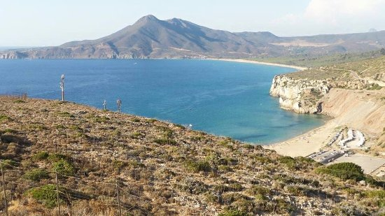 Capo Pecora Beach