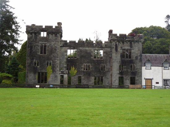 Armadale Castle, Gardens & Museum of the Isles: the castle ruins
