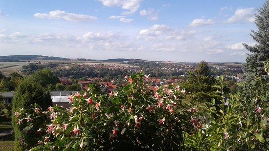 Heilbad Heiligenstadt, Germania: вид, открывающийся с горы
