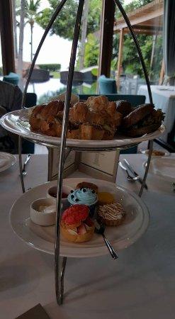 InterContinental Hua Hin Resort: Classic afternoon tea set
