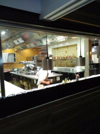 Pietramare Natural Food Restaurant: cucina