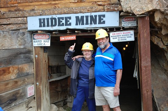 Central City, CO: Entrance to the mine.