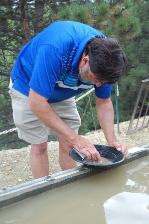 Central City, CO: Enjoy panning for gold.