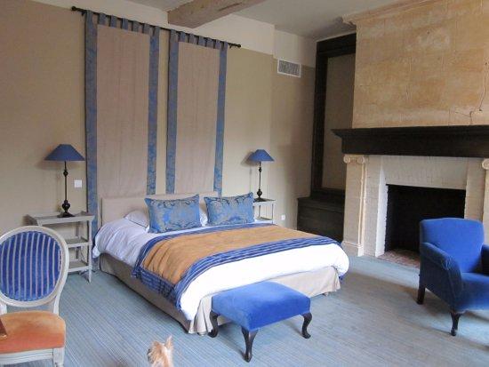 Augerville-la-Riviere, Франция: un exemple de chambre, 5ème séjour, toutes les chambres sont différentes et aussi belles les une