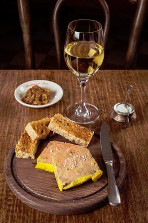 Restaurant Paul : foie gras de canard maison et ses toasts