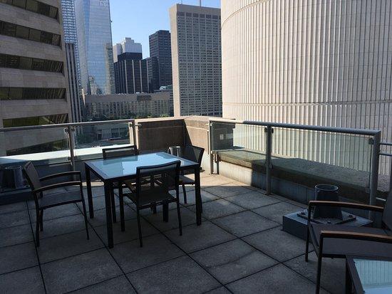 Toronto Marriott Downtown Eaton Centre Hotel: Wonderful balcony
