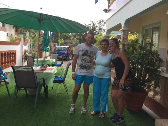 Villa Bananier: con la proprietaria