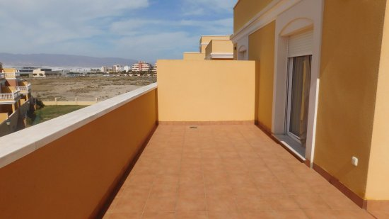Terraza Atico Picture Of Playamar Apartments Roquetas De