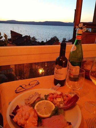 Antipasto Di Mare Picture Of Ristorante La Terrazza Sul Lago