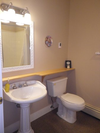 Rosebud, Canadá: All of our rooms have their own full bathrooms.