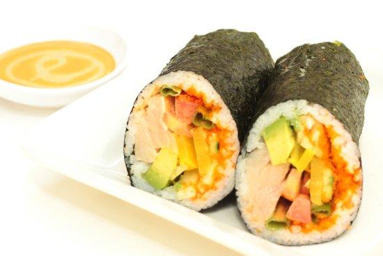 Hamachi Sushi Burrito Picture Of Kui Shin Bo San Francisco