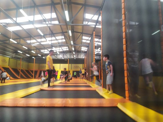 Air Bound Trampoline Park Dundalk