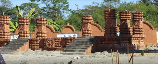 Jagannath Temple: chariot