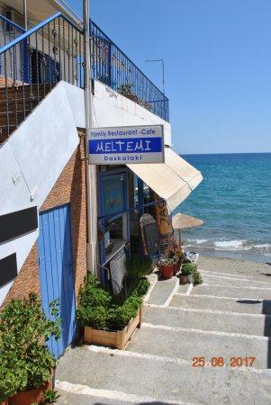 Lentas, Griechenland: l'enseigne