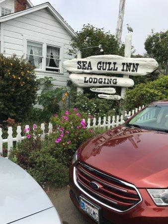 Sea Gull Inn Bed and Breakfast: Tucked away in beautiful gardens