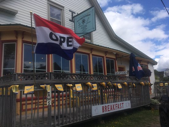 Five Islands, Canada: Mo's Cafe