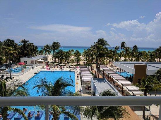 Room 8309 - oceanview - Picture of Hotel Riu Playacar, Playa