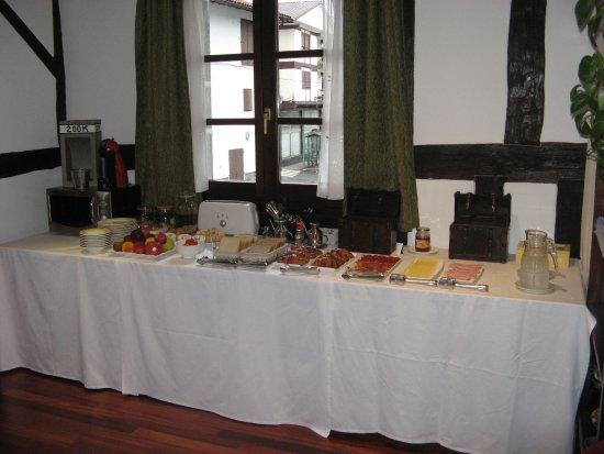 Lesaka, Spain: Petit déjeuner