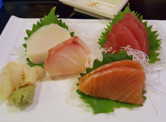 Osaka Seafood Steakhouse: Sashimi Lunch