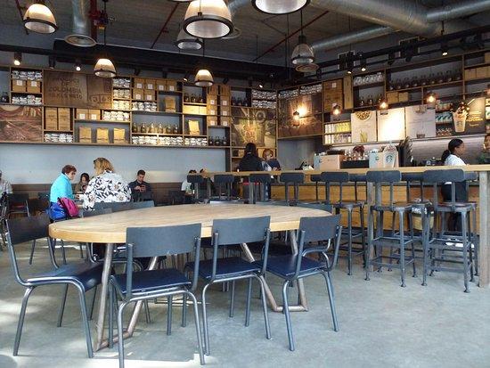 Interior of Starbucks Utrecht. Italian atmosphere? No! - Picture of ...