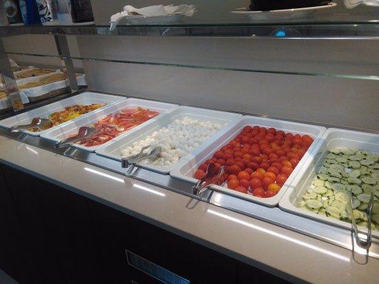 Hotel Cesare Augusto: Mix di verdure per il pranzo