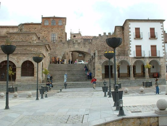 Province of Caceres, Spagna: You feel like in the Middle Ages.