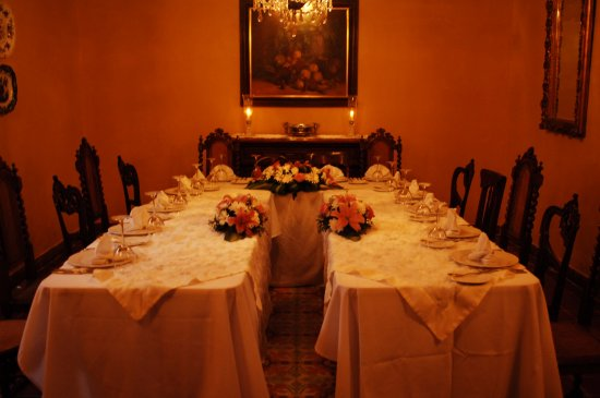 Comedor Colonial Privado 4 14 personas fotografa de