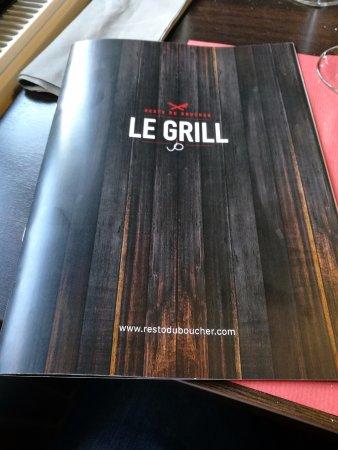 Resto du Boucher: Super menu