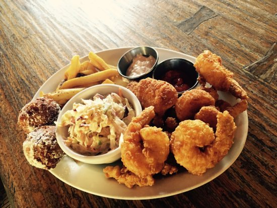 Fried shrimp plate picture of winter park fish company for Winter park fish company