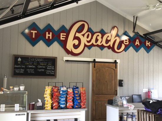 Clarklake, MI: Beach Bar Gear Garage