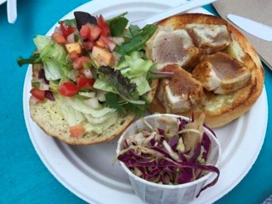 Go fish vancouver granville island fairview for Go fish restaurant