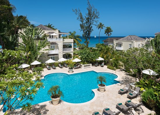 Holetown, Barbados: Pool at Coral Reef Club