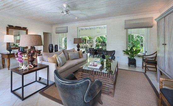 Holetown, Barbados: Tamarind Villa - Living Room