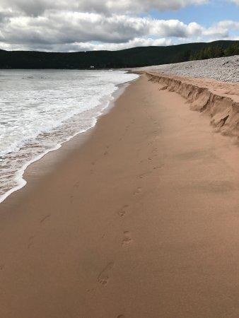 Cape North, Canada: Beautiful beach