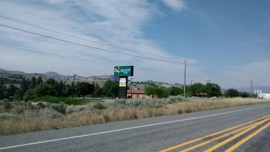 Okanogan, WA: Fácil localização