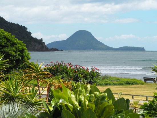 Ohope, Yeni Zelanda: Apartment views from the decks.