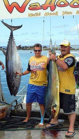 WaHoo Fishing Charters: Tuna/Mahi