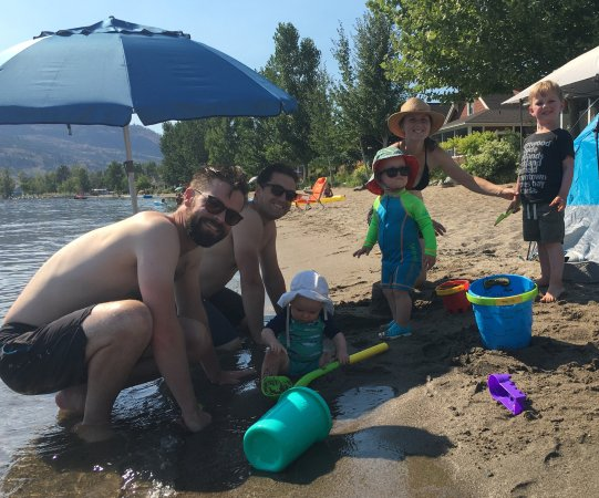 Oroville, WA: Great beach