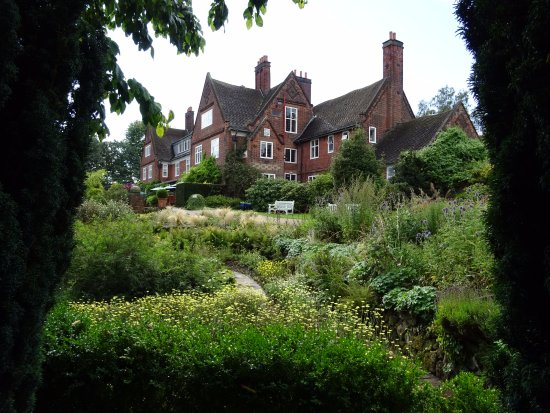 Winterbourne House and Garden: A view of the house from the garden