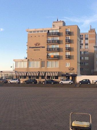 Prominent Inn Hotel: Seitenansicht / Zimmer mit seitl. Meerblick