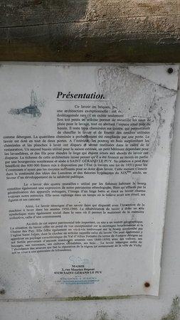 Saint-Gerand-le-Puy, Francja: Lavoir St Gerand le Puy