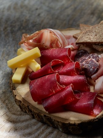 Эволен, Швейцария: Planchette de salaisons valaisannes